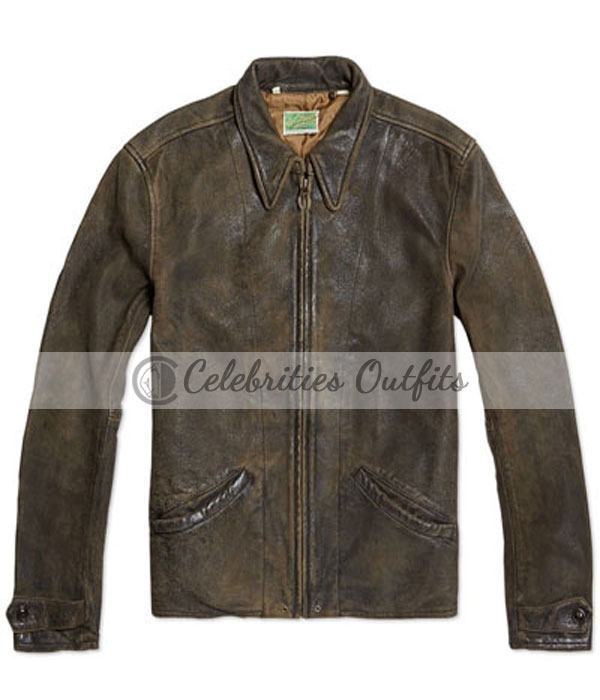 Skyfall Daniel Craig Vintage Replica Leather Jacket