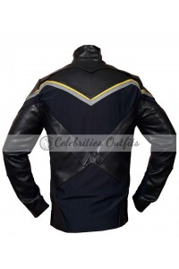 Hancock Movie Will Smith Replica Leather Costume Jacket
