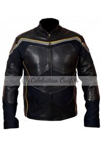 Hancock Movie Will Smith Replica Leather Costume Jacket