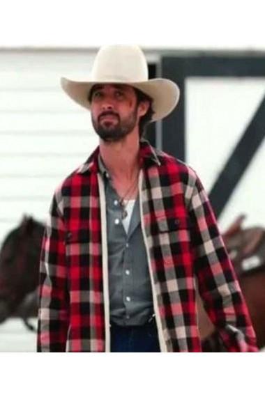 Yellowstone Season 3 Ryan Bingham Cotton Jacket