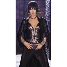 Ashley Scott Birds of Prey Trench Leather Cost Costume