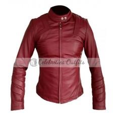 Alexandra Daddario San Andreas Movie Leather Jacket