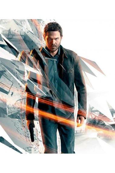 Quantum Break Jack Joyce Game Distressed Jacket