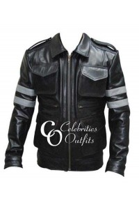 Leon Kennedy Resident Evil Gaming Cosplay Leather Jacket