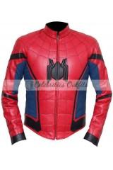Tom Holland Spider-Man Homecoming Costume Jacket