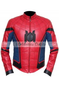 Tom Holland Spider-Man Homecoming Costume Jacket