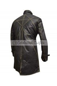 Aiden Pearce Watch Dogs Trench Gaming Costume Coat