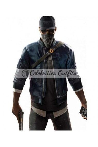 Marcus Holloway Watch Dogs 2 Cosplay Bomber Jacket
