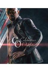 Nick Fury Avengers Age Of Ultron Black Leather Jacket