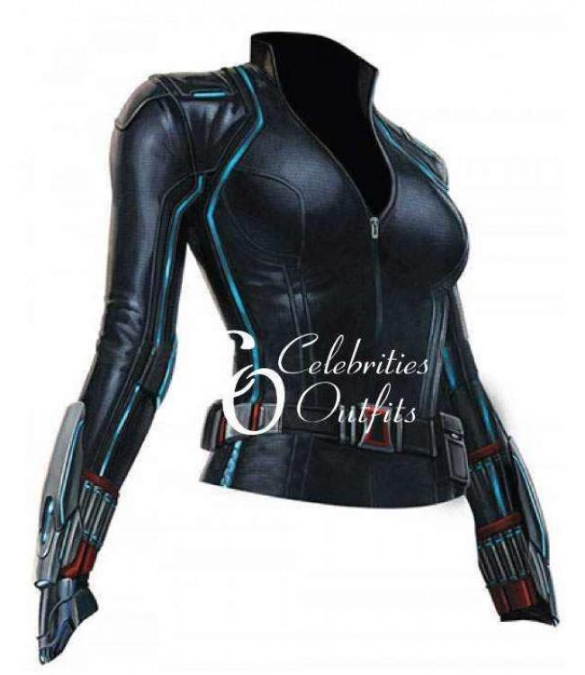 Black Widow Age Ultron: Avengers Age Of Ultron Scarlett Johansson Black Widow Jumpsuit