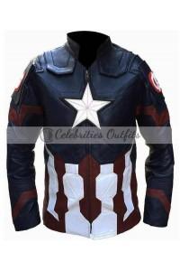 Chris Evans Civil Wars Costume Captain America Jacket
