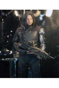 Winter Soldier Sebastian Stan Civil War Jacket