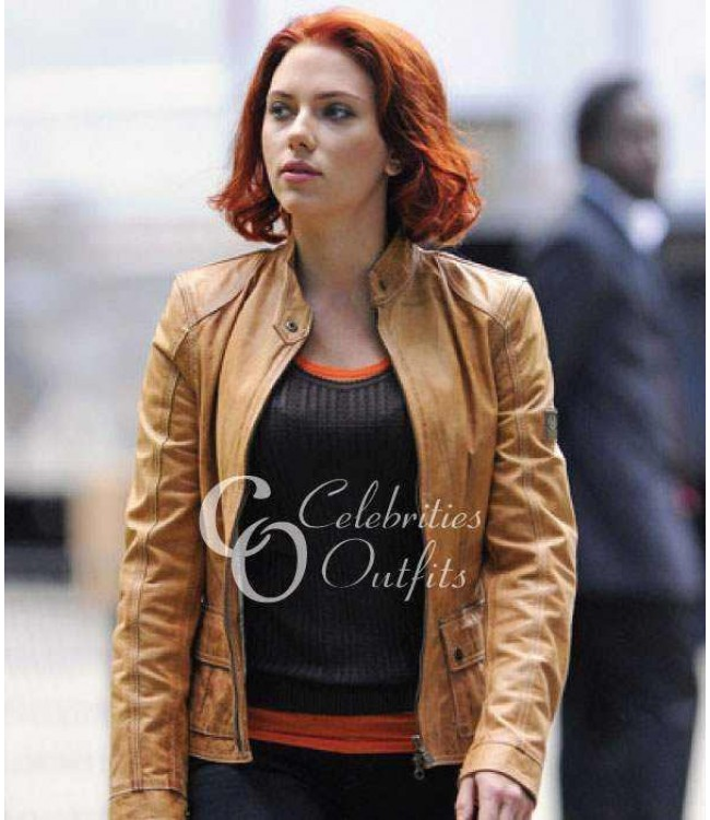 Tan Leather Jacket Women - Jacket