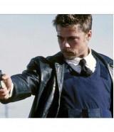 Brad Pitt Se7en David Mills Black Jacket