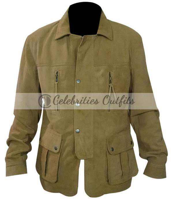 Dream House Daniel Craig Brown Suede Jacket