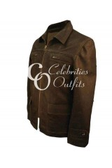 Daniel Craig Defiance Movie Brown Leather Jacket