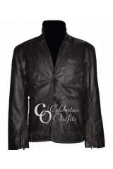 Jason Statham Fast And Furious 7 Black Leather Jacket