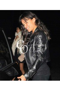 Fast And Furious Michelle Rodriguez Jacket in Santa Monica