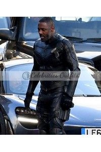 Fast And Furious Hobbs And Shaw Idris Elba Black Leather Jacket