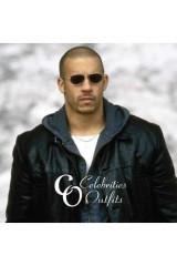 Vin Diesel Knockaround Guys Movie Leather Jacket