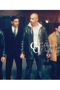 Vin Diesel Knockaround Guys Movie Leather Jacket