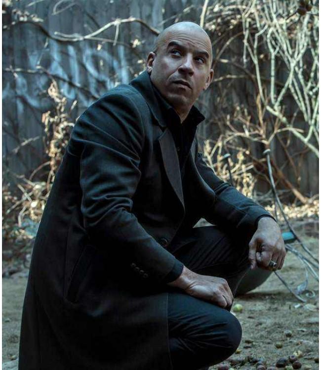 Vin Diesel Kaulder The Last Witch Hunter Jacket Coat