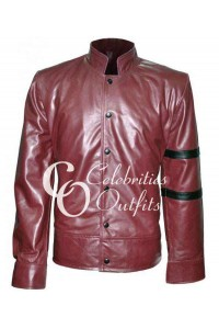 Fast And Furious 4 Vin Diesel Maroon Leather Jacket