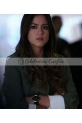 Chloe Bennet Agents of SHIELD S1 Skye Green Cotton Jacket