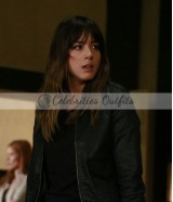 Agents of SHIELD Chloe Bennet Skye Black Leather Jacket