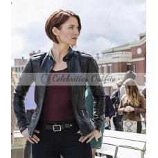Alex Danvers Supergirl Black Leather Jacket