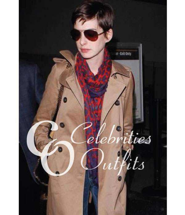 anne-hathaway-brown-trench-coat