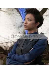 Sonequa Martin-Green Star Trek Discovery Black Vest