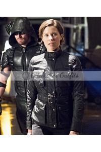 Lyla Michaels Arrow TV Series Black Jacket