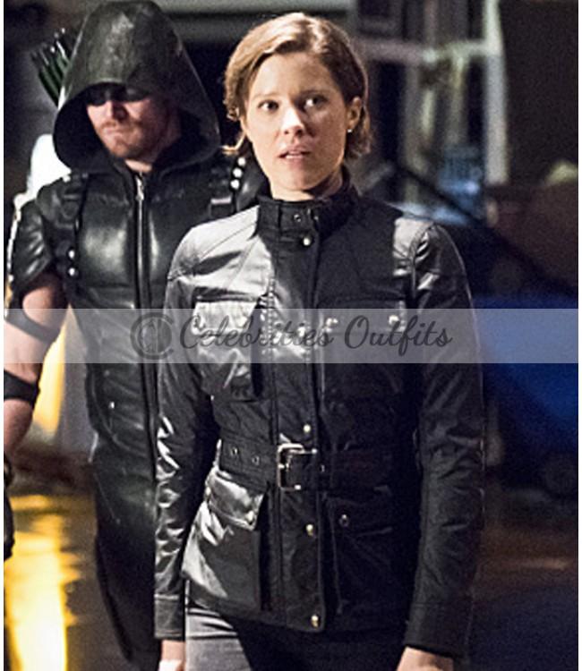 arrow-lyla-michaels-black-jacket