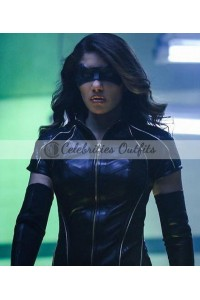 Dinah Drake Arrow Season 6 Leather Jacket