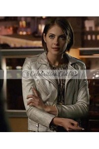 Arrow Season 5 Willa Holland Silver Jacket