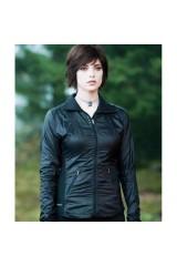 Twilight Saga: Eclipse Alice Cullen Black Leather Jacket