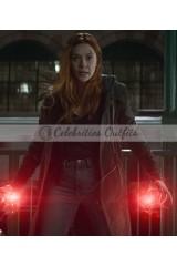 Avengers Infinity War Wanda Maximoff Coat