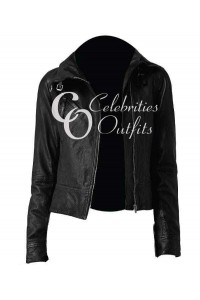 Catherine Chandler Beauty And The Beast Black Jacket