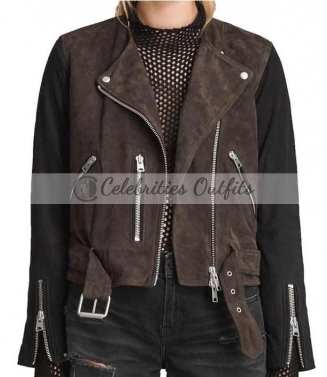 katie-cassidy-arrow-biker-jacket