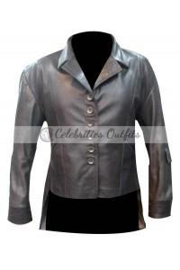 Elizabeth Olsen Captain America: Civil War Green Jacket