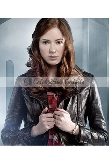 Amy Pond Doctor Who Karen Gillan Jacket