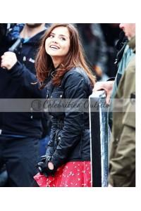 Jenna Coleman Doctor Who TV Series Clara Oswald Jacket