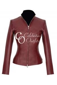 Martha Jones Doctor Who Brown Leather Jacket