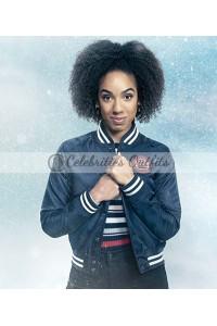 Pearl Mackie Doctor Who Twice Varsity Jacket