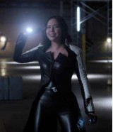 The Flash 2 Dr Light Linda Park Leather Coat Costume