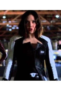 Flash 2 Dr Light Linda Park Leather Coat Costume