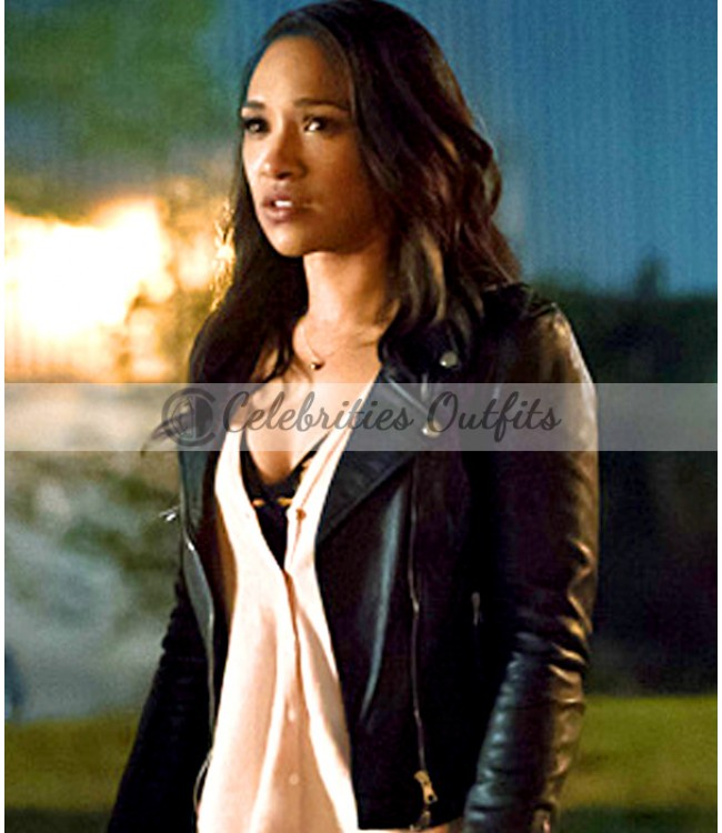candice-patton-flash-s2-green-jacket