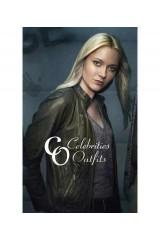 Georgina Haig Fringe TV Show Leather Jacket