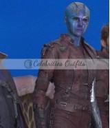 Guardians Of The Galaxy 2 Nebula Short Body Leather Vest Jacket